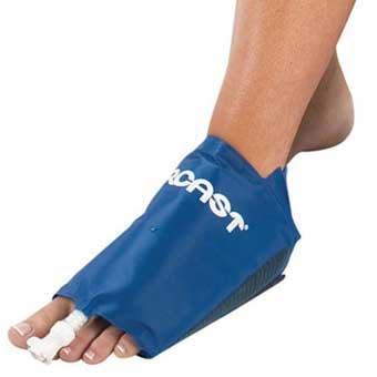 Aircast foot cryo cuff for Aircast cryo cuff ic motorized and cuffs