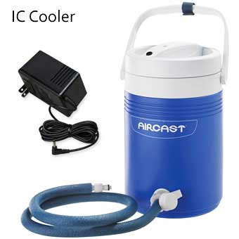 Aircast cryo cuff ic cooler for Cryo cuff ic motorized cooler