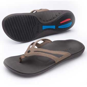 9c58a061734 Spenco. Spenco Polysorb Total Support Quartet Men s Sandals