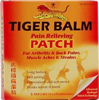 Tiger Balm - Pain Relief Patch