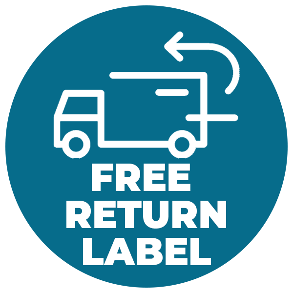 Free Return Label Icon