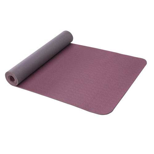 Gaiam-Smokey Purple Reversible Yoga Mat